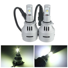 9006 HB4 9006XS Headlight Low Beam 4000LM White 6500K LED Bulb