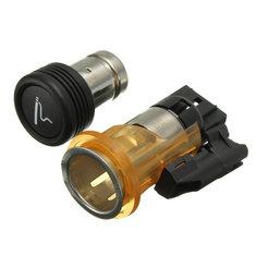 Car Cigarette Lighter&Housing Cig Socket For PEUGEOT 206 308 406 607