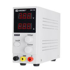 LONG WEI® LW-K3010D 110V/220V 0-10A 0-30V Adjustable DC Power Supply Regulated Digital Switching Power Supply