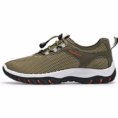 Men Shoes Mesh Outdoor Hiking Running Breathable Athletic Sneakers