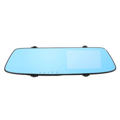 1080P 170 Degrees Wide Angle Rearview Mirror Car DVR Camera