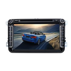 8 Inch Car DVD Stereo Player GPS Navi Radio Bluetooth For VW Golf MK5 Passat Seat