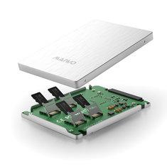 Maiwo KT037B2 4-Port TF Card to SATA Adapter Card Hard Drive Converter Support RAID