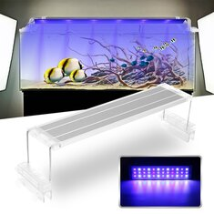 45CM 18W Touch Switch LED Aquarium Light Clip Two Modes Fish Tank Lamp Plant Grow Light 220V