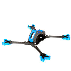 Nidici Kun-H5 227mm Wheelbase 5mm Arm 3K Carbon Fiber 5 Inch FPV Racing Frame Kit for RC Drone