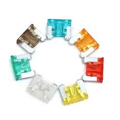 100 Pcs Colorful Autos DIY Medium Low Profile Car Fuse Box Kit