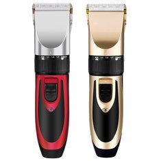 YFM® Перезаряжаемый Мужчины Электрические Волосы Клипер Триммер Борода Бритва 110-240V Волосыcut Керамический Лезвие