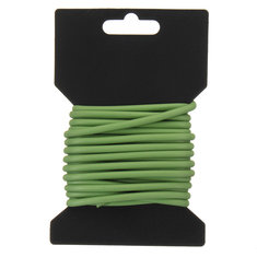 15.09ft Rubber-Coated Flex Plant Wire Ties Plant Support Tie Coated Wire Soft Garden Plant Tie