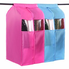 Large Capacity Oxford Hanging Cloth Storage Bag Garment Suit Coat Wardrobe Dust Protector