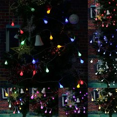 Battery Powered 3M 20 LED Ball Fairy String Light Outdoor Christmas Wedding Party Decor