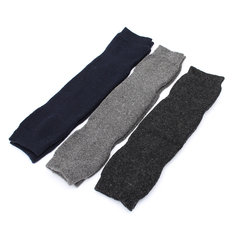 Unisex Mens Women Cashmere Wool Warmers Leg Thigh High Socks Knee Pad