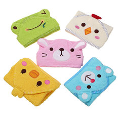Pets Dog Cat Puppy Doggy Towel Cute Bathrobe Cartoon Absorbent Pet Bath Towel Blanket