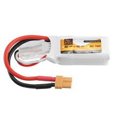 ZOP Power 7.4V 450mAh 60C 2S Lipo Battery XT30 Plug