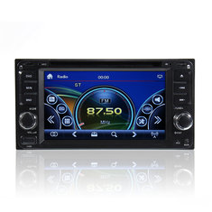 Double 2 Din 6.95 Inch Stereo Car DVD CD Player Bluetooth Radio iPod SD/USB TV