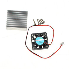 Original Hiland Heat Sink + Cooling Fan + Mounting Screws Kit For 0-30V 0-28V Universal Power Supply