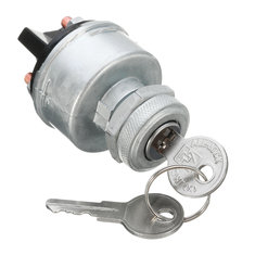 Universal 12V Car Ignition Switch 2 Keys 4 Position ON/OFF/START/ACC Replacement