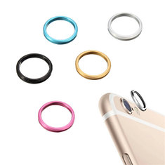 Rear Camera Glass Metal Lens Protector Hoop Ring Circle Case Cover Ring For iPhone 6S Plus 5.5 inch