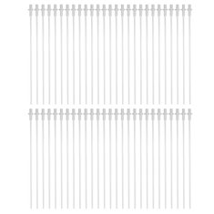 50Pcs 10'' Disposable Artificial Insemination Rods Tube For Dog Goat Sheep Breed Rod Test Tube