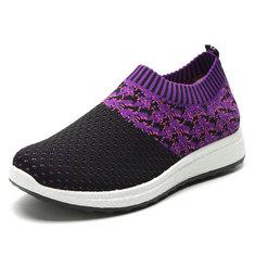 c173b149395c Large Size Women Outdoor Walking Casual Shoes