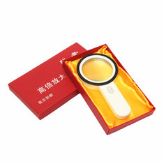 30X LED Lighted Magnifying Glass Handheld Reading Loupe Magnifier With 12 LED