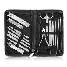 YFM® 16штук(а)Ногти Художественный маникюр Набор маникюров Ножницы Клиперов для ногтей Пинцетный нож для ногтей Инструмент