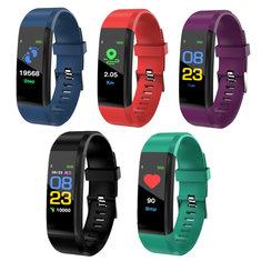 XANES B05 0.96'' OLED Color Screen Smart Watch IP67 Waterproof Blood Pressure Monitor Smart Bracelet