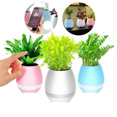Potted Rims Speakers Creative Intelligent Music Speaker Flower Pot Toys Of Wireless bluetooth Stereo