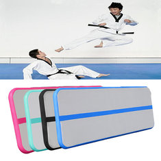 236 x 19.7 x 3.9 inch Inflatable Air Track Floor Gymnastics Mat  Practice Training Tumbling Pad
