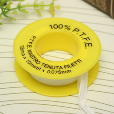 PTFE Teflon Tape White Thread Seal Tape 12mm*10m*0.075mm
