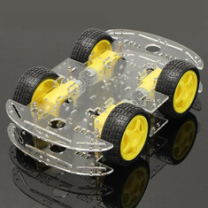 Geekcreit® 4WD Smart Robot Car Chassis Kits With Strong Magneto Speed Encoder For Arduino 51