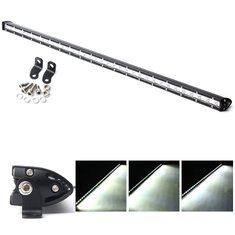 37inch 86W LED Work Light Bar Spot Flood Combo Beam Lamp For Driving Off Road SUV ATV Truck