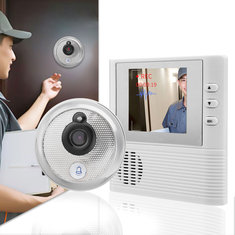 2.8inch LCD Video Door Doorbell Home System Visual Monitor Peephole Viewer Set