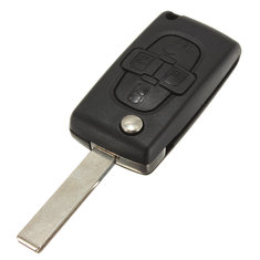 Remote Key Fob Case Shell 4 Buttons for Peugeot 1007 Citroen C8