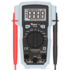 Digital multimeters buy cheap digital multimeters from banggood mustool mt66 true rms 5999 counts digital multimeter acdc current voltage frequency resistance capacitance fandeluxe Image collections