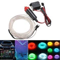 300cm EL Neon Light Effect Light Cable Cord Wire 12V Inverter
