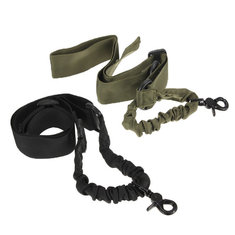 Outdooors Tactical  Belt Adjustable Bungee Sling Elastic BelT-strap Rope Cord With Buckle