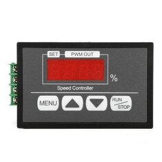 DC6V-60V 30A PWM Motor Speed Regulator Power Controller LED Digital Display PWM Speed Controller