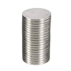 100PCS Strong 10x1mm N50 Disc Round Rare Earth Neodymium Magnetic Toys