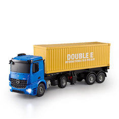 Double E E564-003 2.4G 1/20 RC Car Crawler Container Truck With Head Light