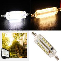 R7S LED Bulb 8W 78MM SMD 3014 108 Pure White/Warm White Corn light Lamp 220V-240V