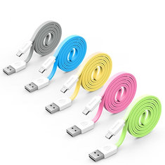 Baseus String Series 1M Micro USB Noodles Line Charging Data Cable for Android