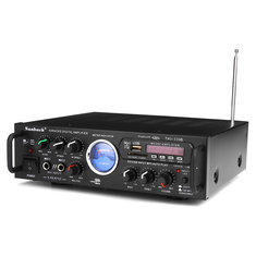 Sunbuck TAV-339B 110V bluetooth 600w Karaoke Power Stero Amplifier With VU Meter FM 2 Ch USB SD