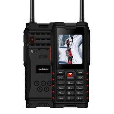 IoutdoorT2IP68Водонепроницаемый2.4'' 4500mAh UHF уоки-токи Bluetooth Двойная SIM-карта Прочный телефон