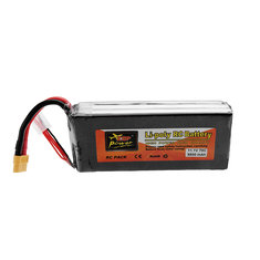 ZOP POWER 11.1V 5500mAh 70C 3S Lipo Battery With XT60 Plug For RC Model