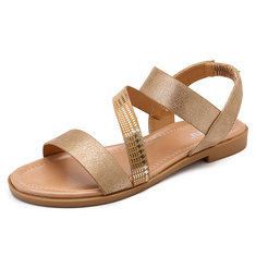 d34afcb9715 elastic flat sandals - Buy Cheap elastic flat sandals - From Banggood