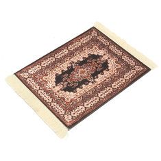 28cm x 18cm Cotton Bohemia Style Persian Rug Mouse Pad For Desktop PC Laptop Computer