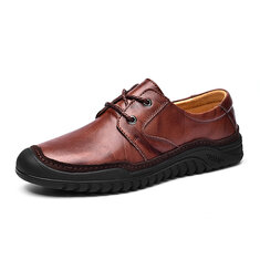 Genuine Leather Casual Business Oxfords