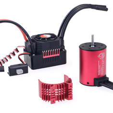 Surpass Hobby 3650 3600KV RC Car Motor+35a Waterproof ESC 2-3S For 1/10 RC Models Buggy Drift