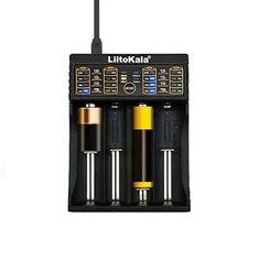 Liitokala Lii-402 Micro USB DC 5V 4Slots 18650/26650/16340/14500 Battery Charger