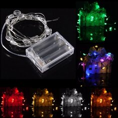 2M 20 LED Lucky Egg Style Battery Operated Xmas String Fairy Lights Party Wedding Christmas Decor